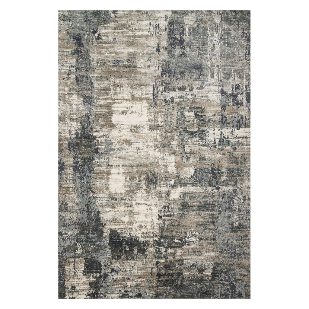 Loloi Cascade Ivory/Charcoal Power Loomed Rug