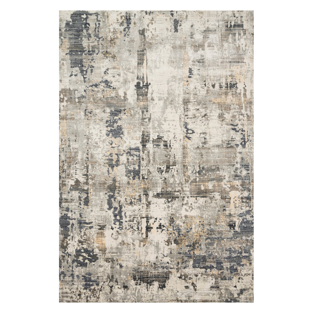 Loloi Cascade Ivory/Natural Power Loomed Rug