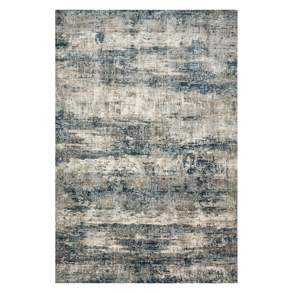Loloi Cascade Ocean/Gray Power Loomed Rug