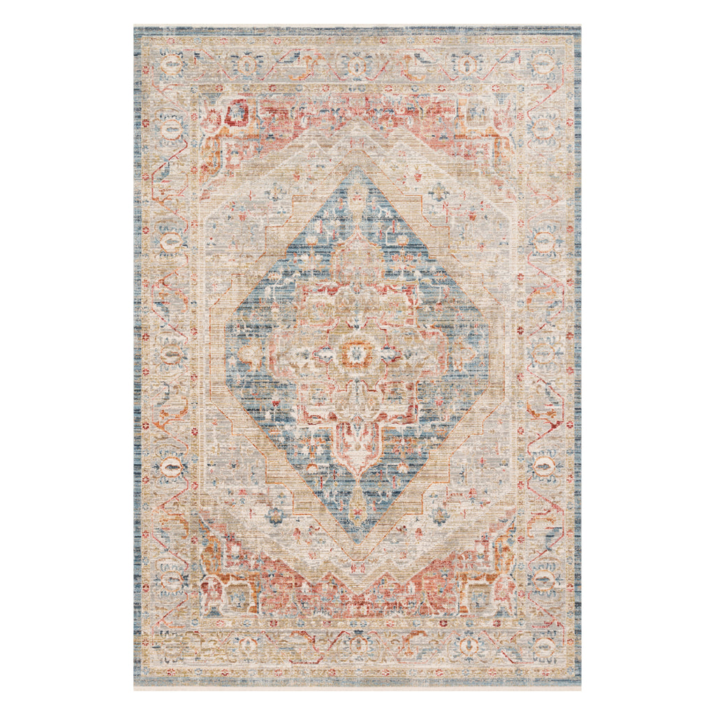 Loloi Claire Blue Power Loomed Rug