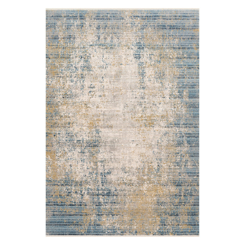 Loloi Claire Neutral/Sea Power Loomed Rug