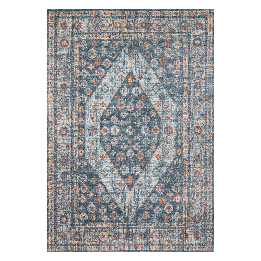 Loloi Clara Blue Power Loomed Rug