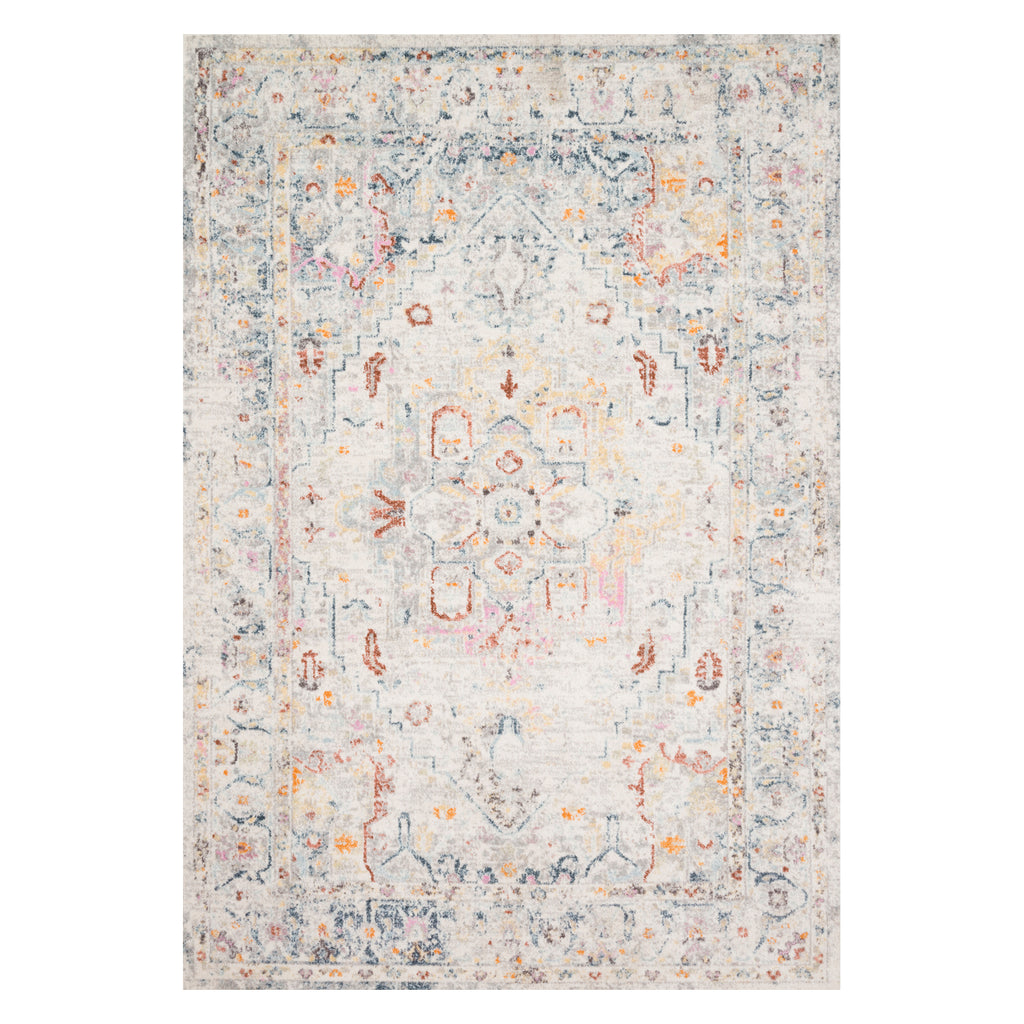Loloi Clara Light Gray Power Loomed Rug