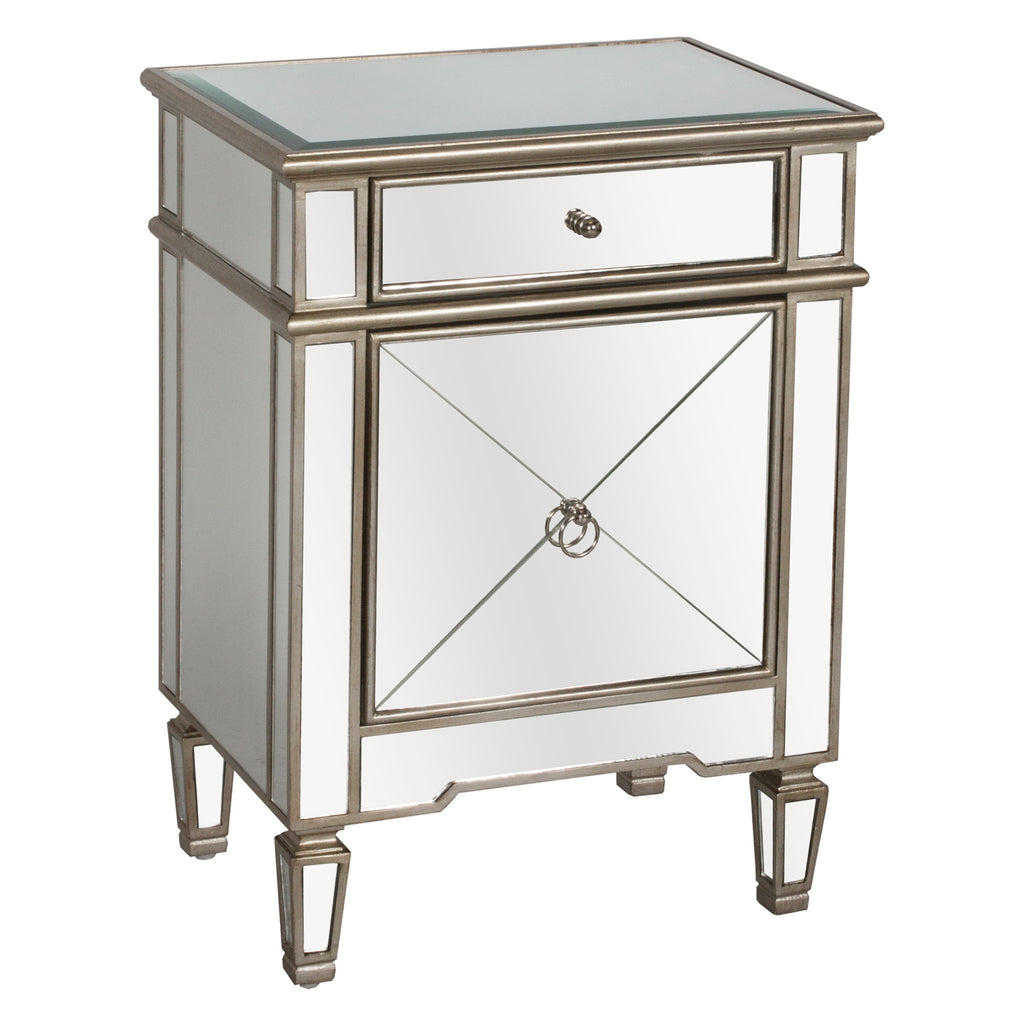 Worlds Away Claudette Nightstand