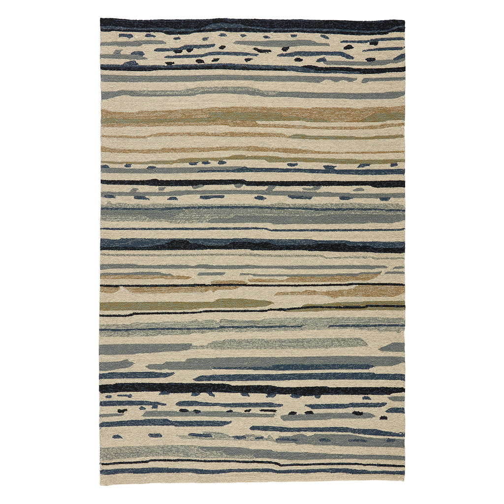 Jaipur Colours Sketchy Lines Indoor/Outdoor Rug