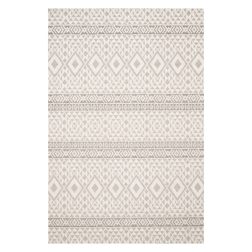 Loloi Cole Silver/Ivory Indoor/Outdoor Rug