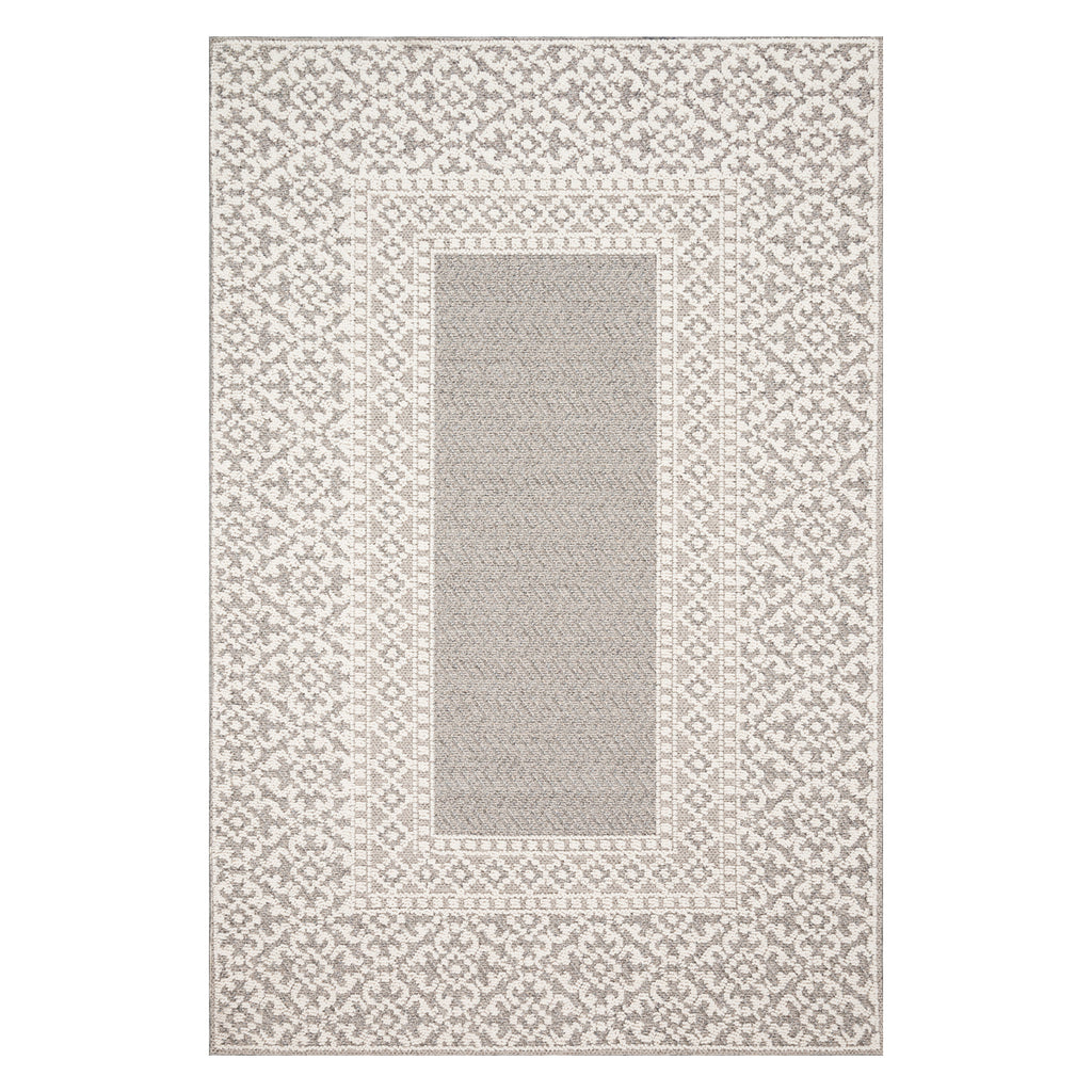 Loloi Cole Gray/Ivory Indoor/Outdoor Rug