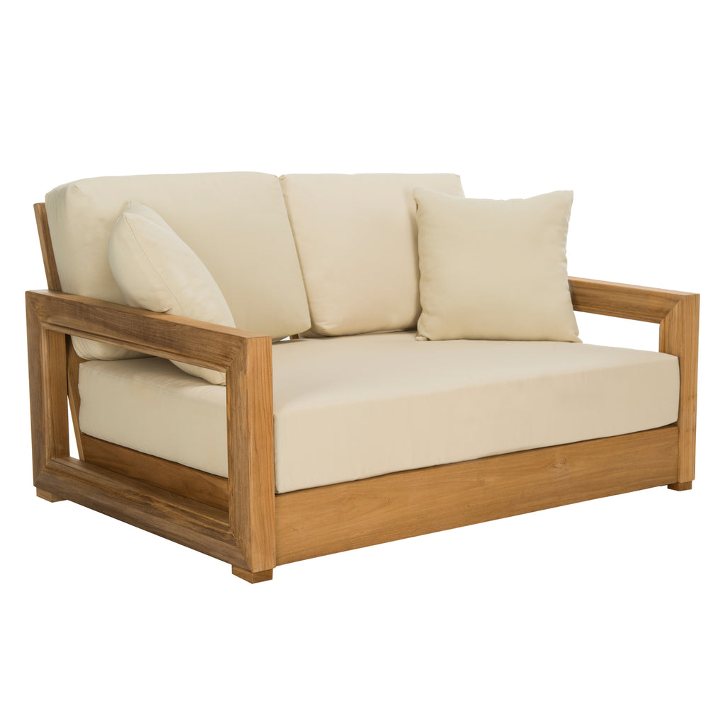 Huntington Teak Outdoor Loveseat