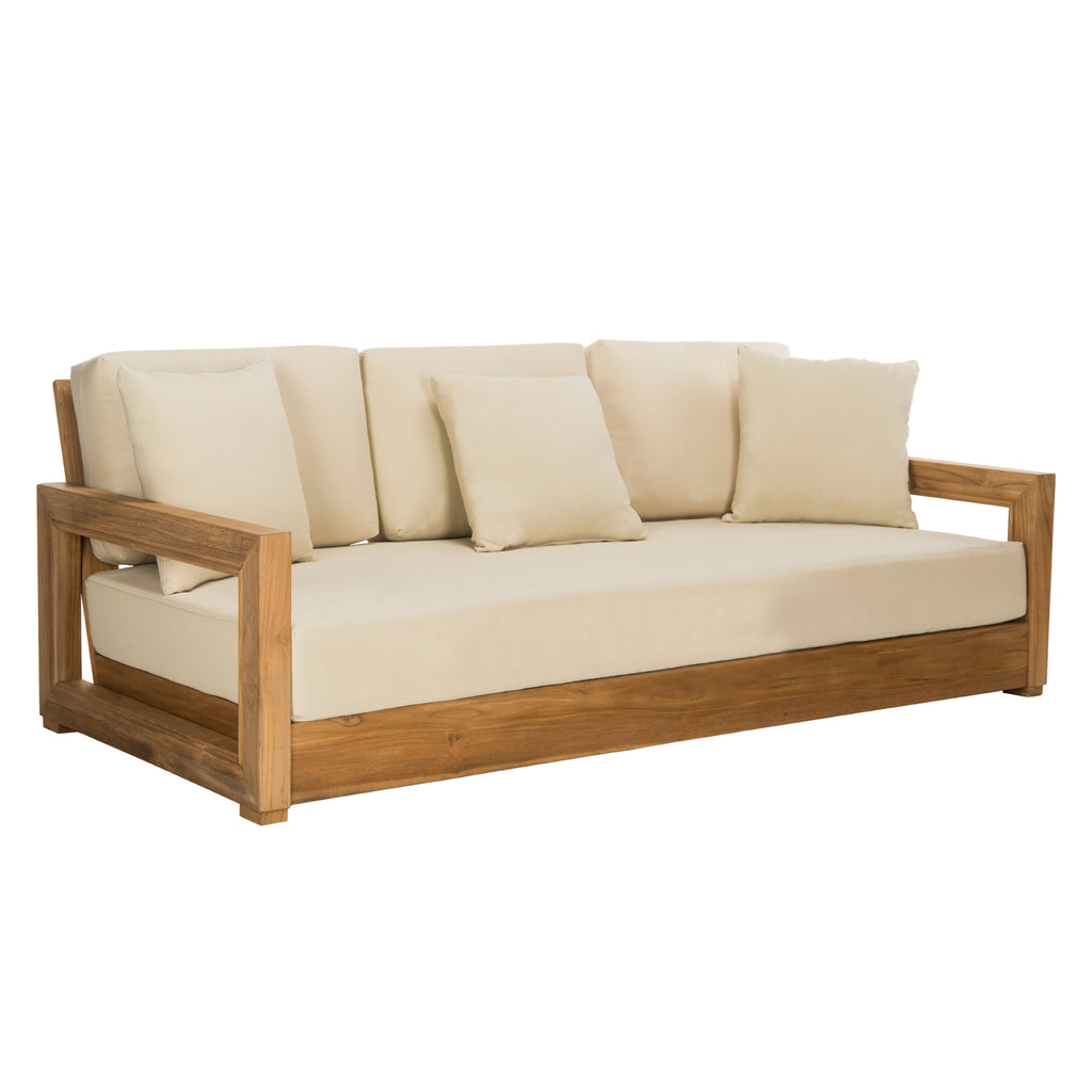 Huntington Teak Outdoor Sofa