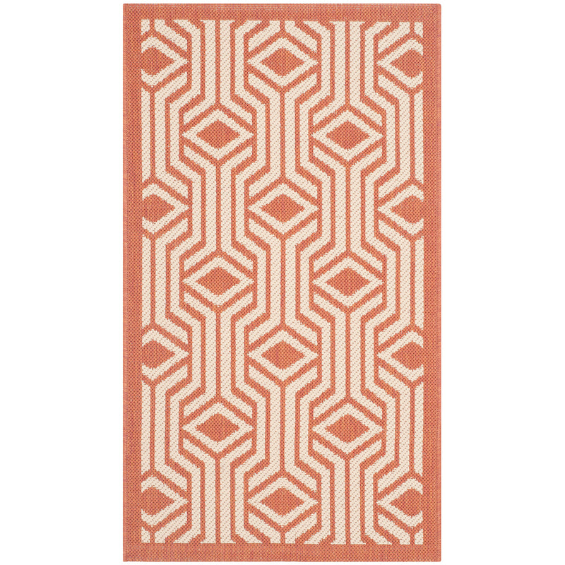 Riverine Vivid Terracotta Indoor/Outdoor Rug