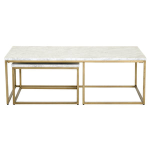 Carrera Nesting Coffee Table Set of 2
