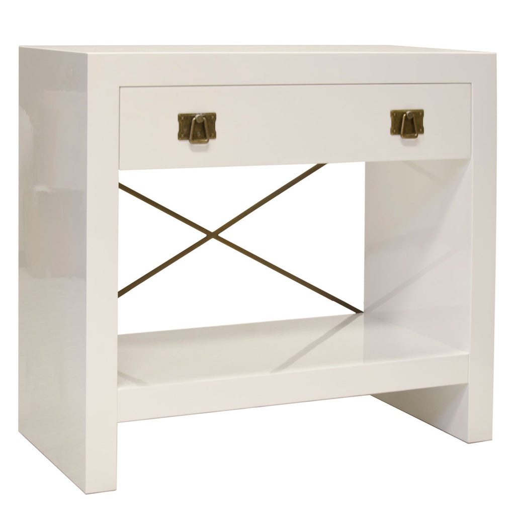 Worlds Away Dalton Nightstand