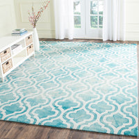 Dip Dye Moroccan Tile Hand Tufted Rug