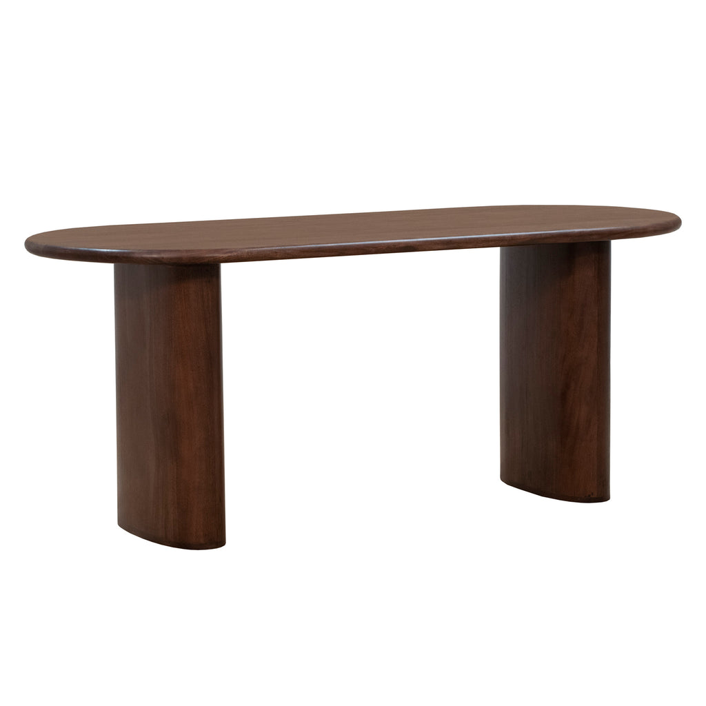 Union Home Ovale Dark Porto Dining Table