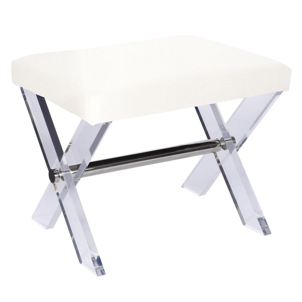Worlds Away Dixon Stool