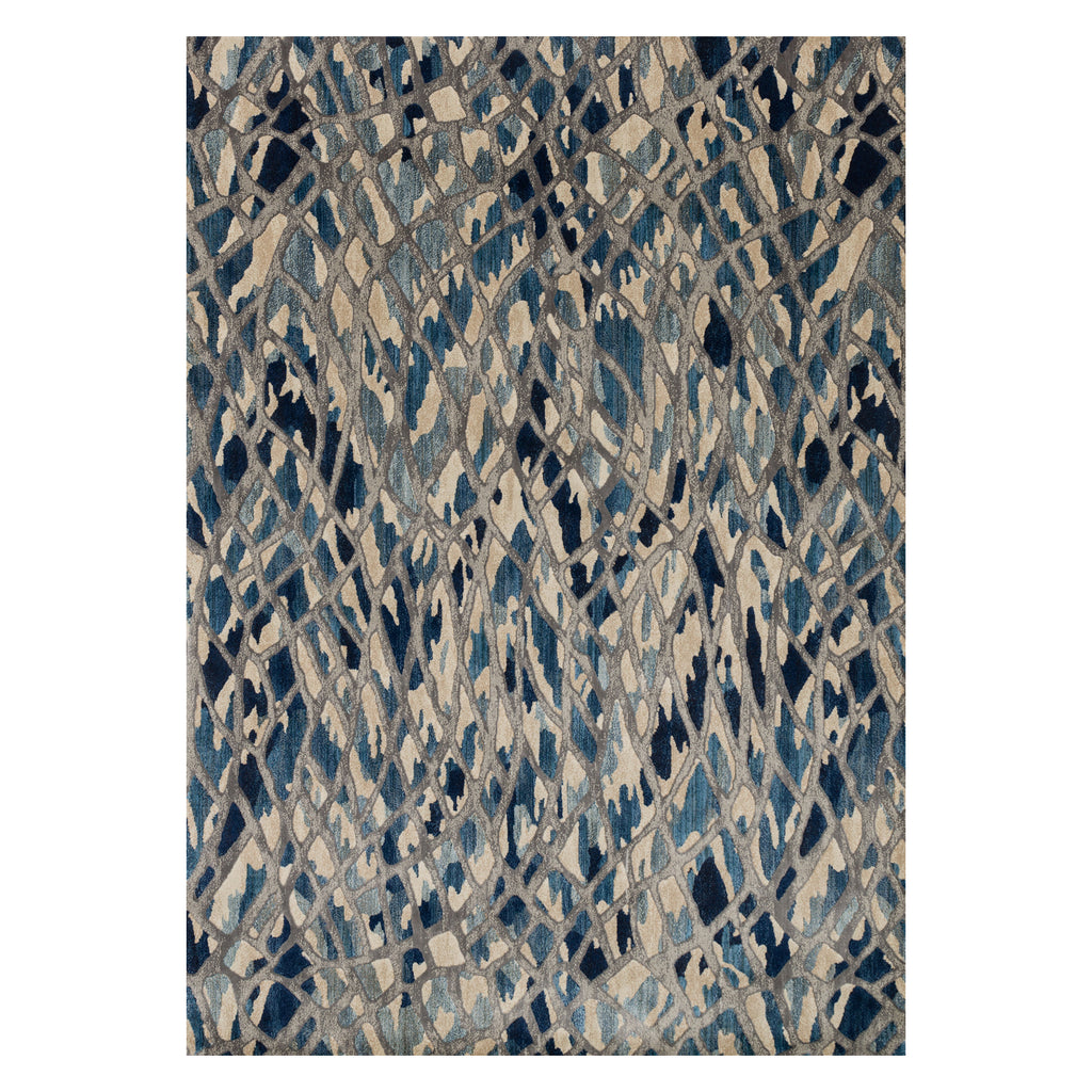 Loloi Dreamscape Artic Blue/Silver Power Loomed Rug
