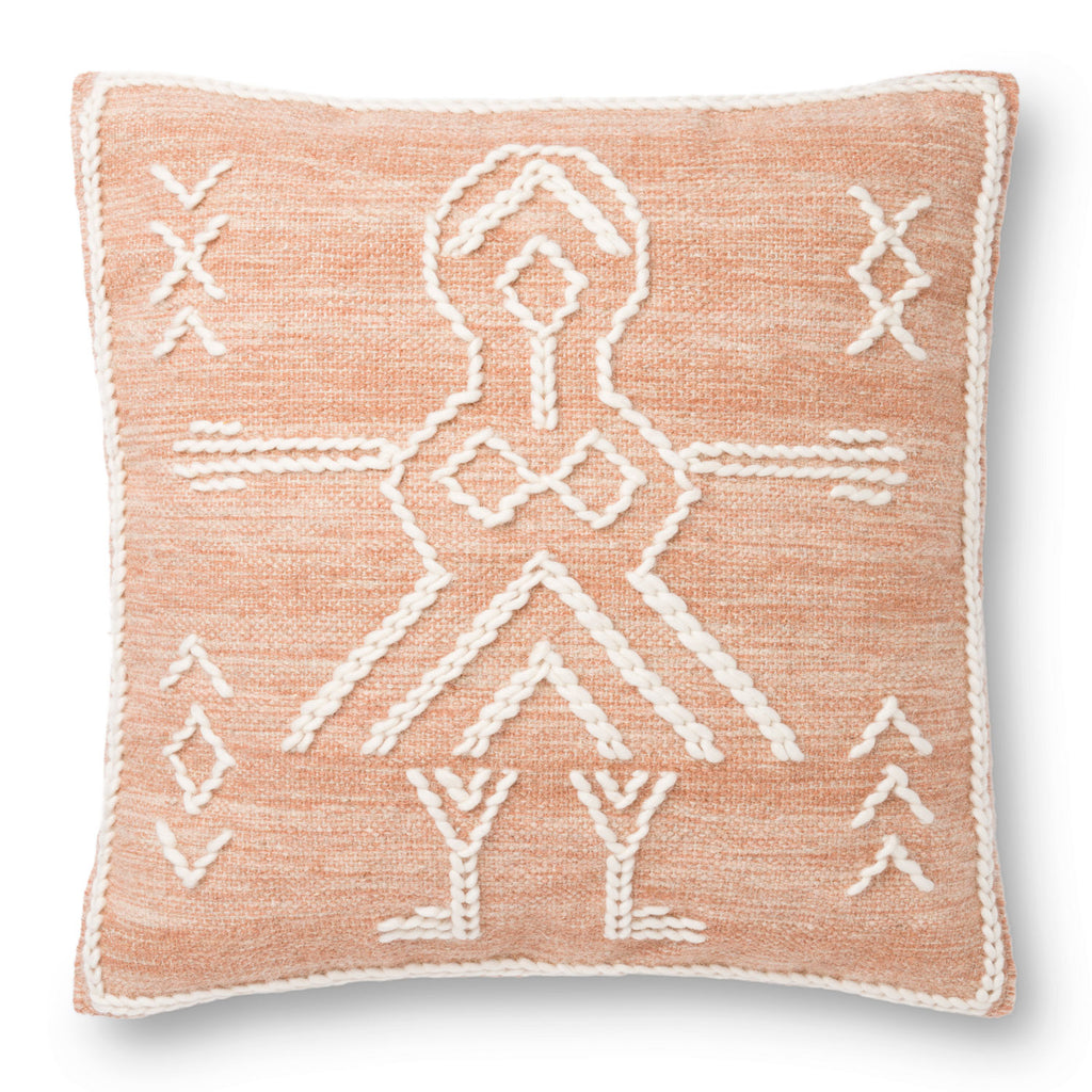 Justina Blakeney × Loloi JB Tribal Rust Throw Pillow Set of 2