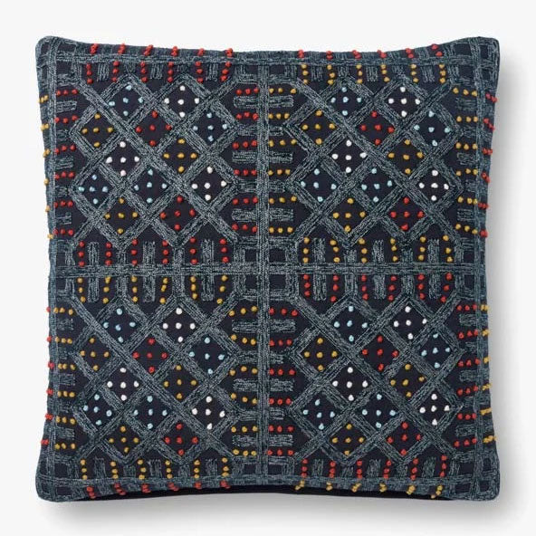 Justina Blakeney × Loloi JB Windowpane Throw Pillow Set of 2