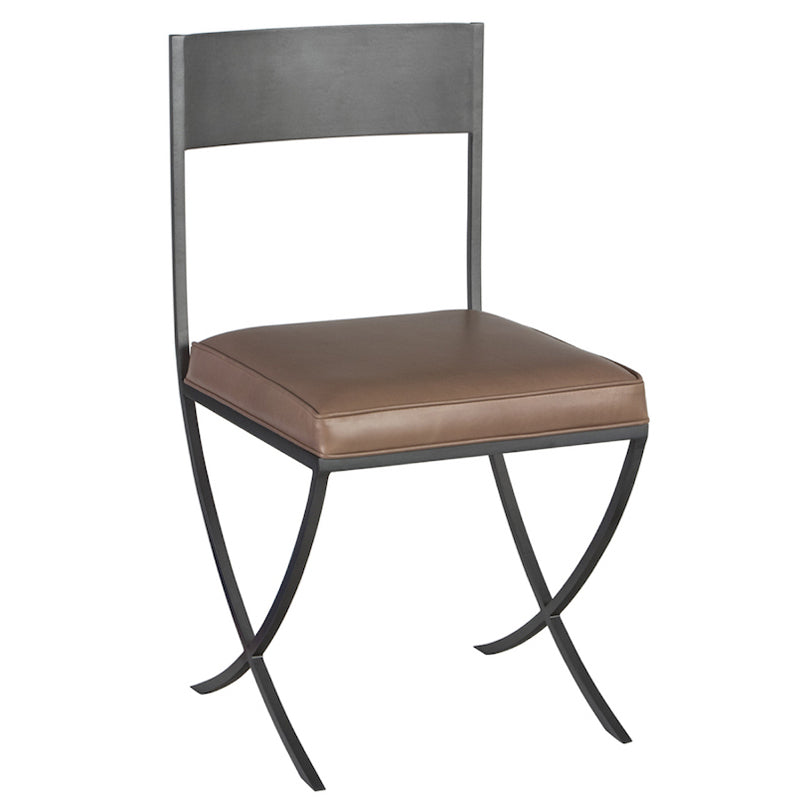 Redford House Darby Leather Dining Side Chair