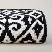 Kashwere Diamond Damask Throw Blanket