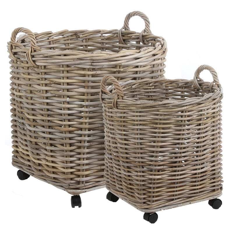 Oakridge Round Basket Set of 2
