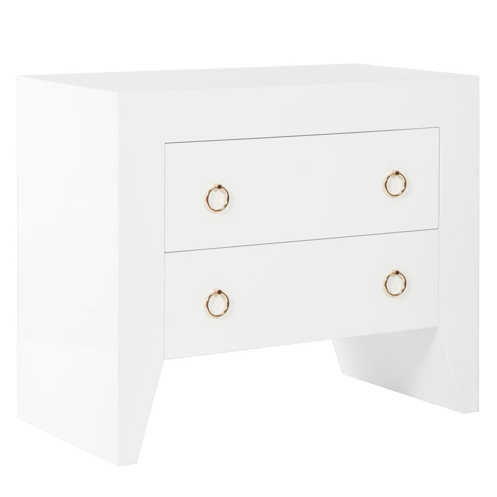 Worlds Away Easton Nightstand