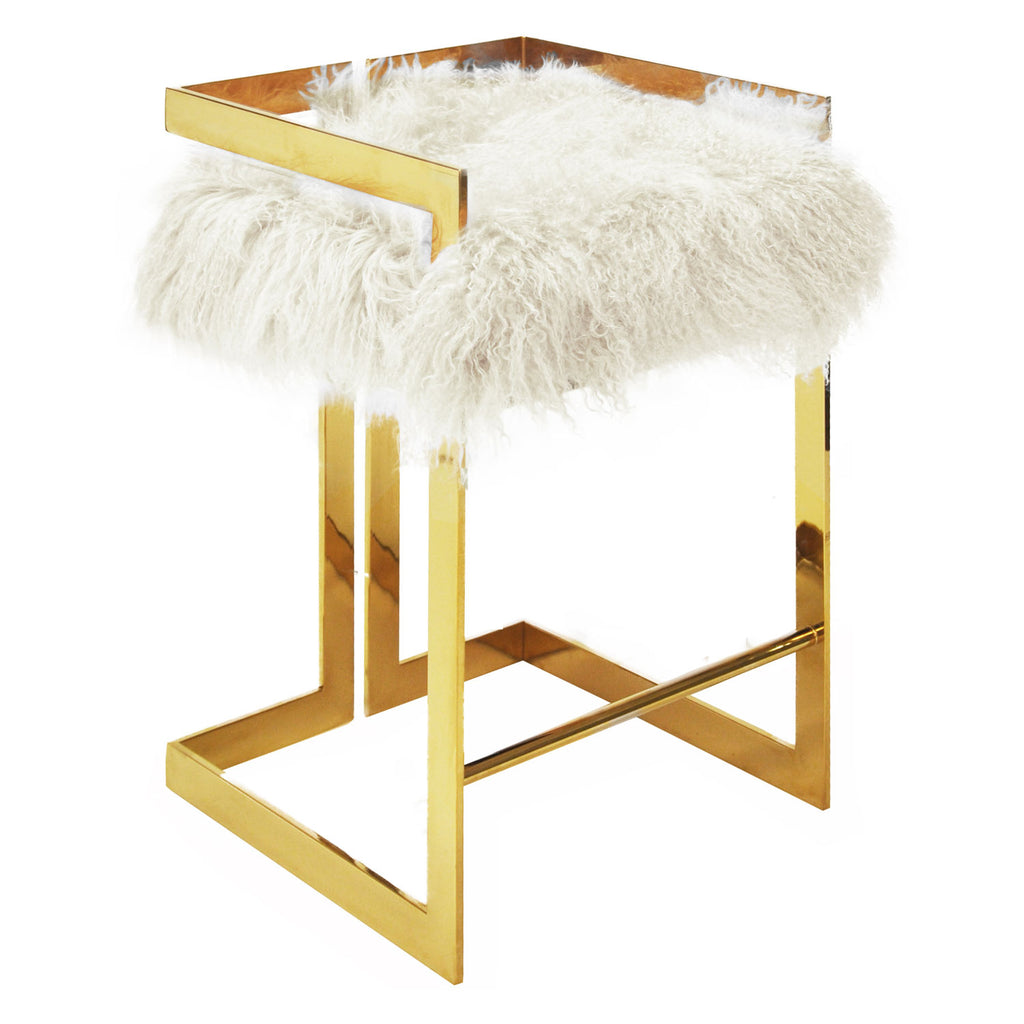 Worlds Away Emmett Counter Stool