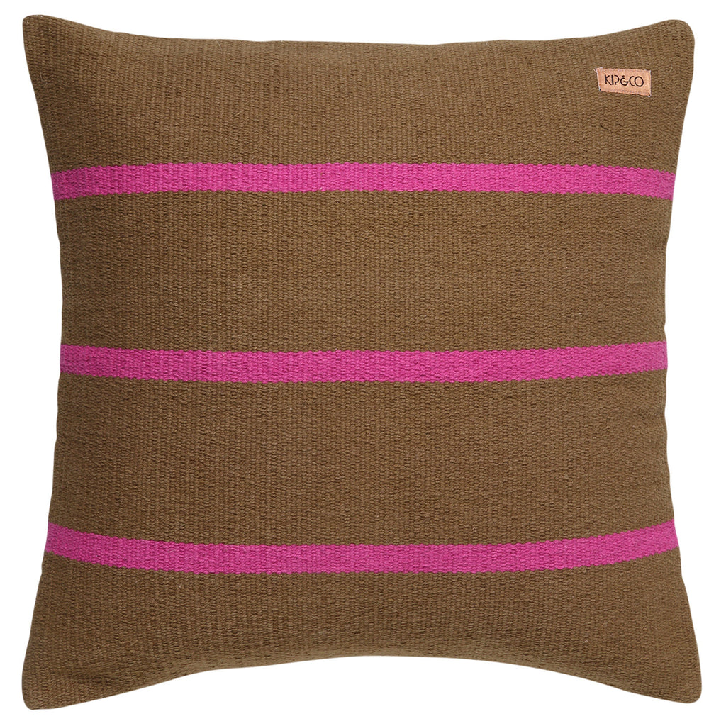 Kip & Co Essouira Durrie Throw Pillow Cover