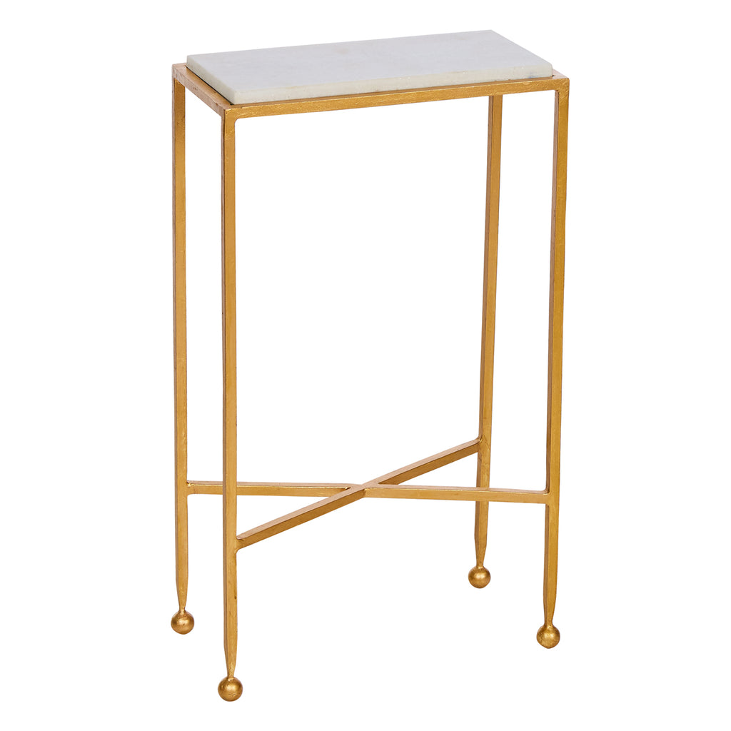 Aidan Gray Chino Marble Side Table