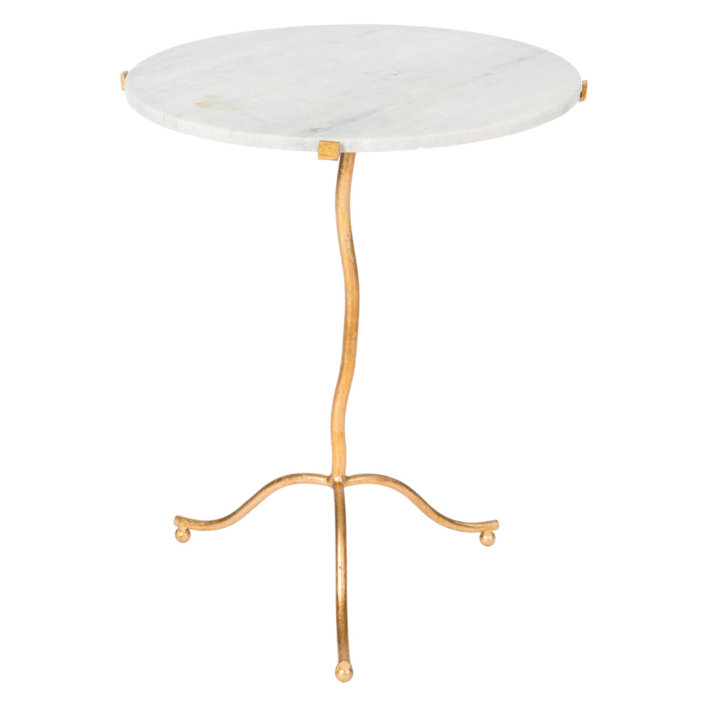 Aidan Gray Kalmar Gold Side Table