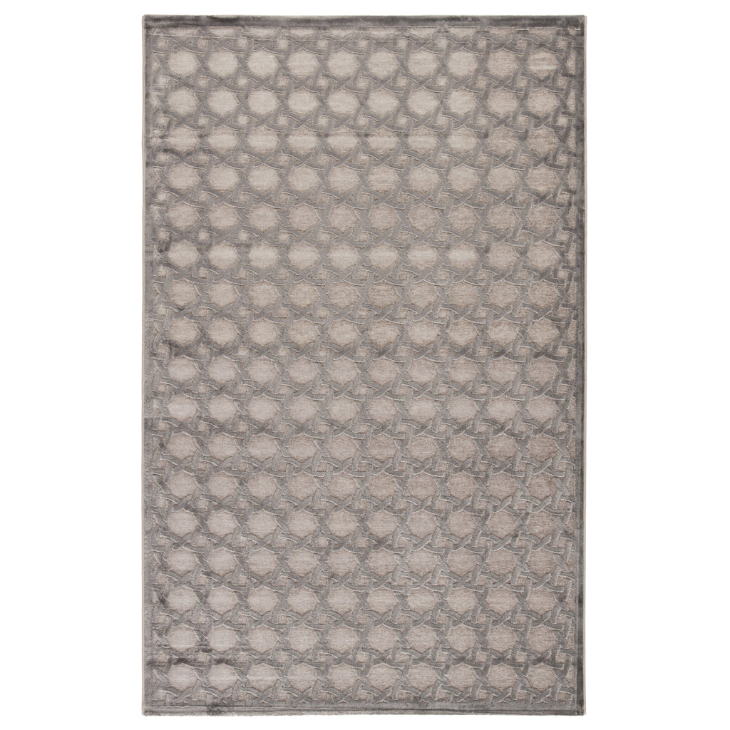 Jaipur Fables Trella Gray Power Loomed Rug