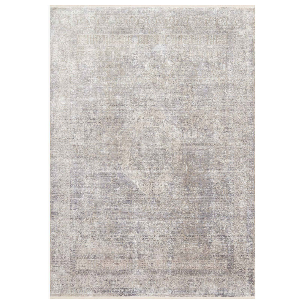 Loloi Franca Silver/Pebble Power Loomed Rug