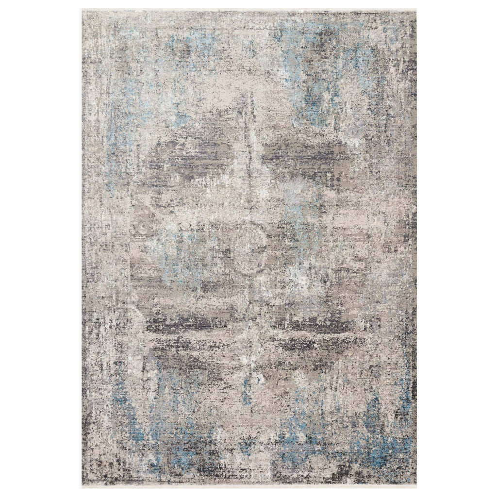 Loloi Franca Slate/Sky Power Loomed Rug