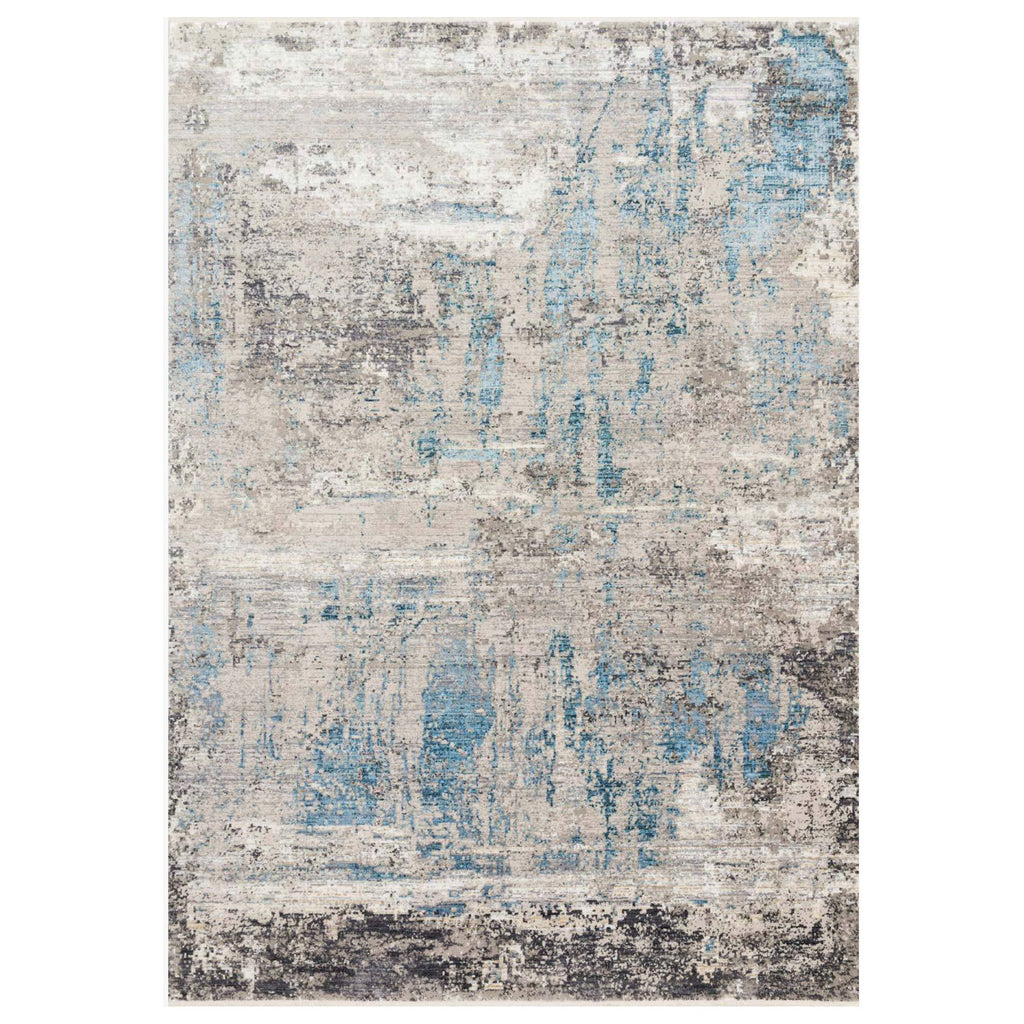 Loloi Franca Gray/Ocean Power Loomed Rug