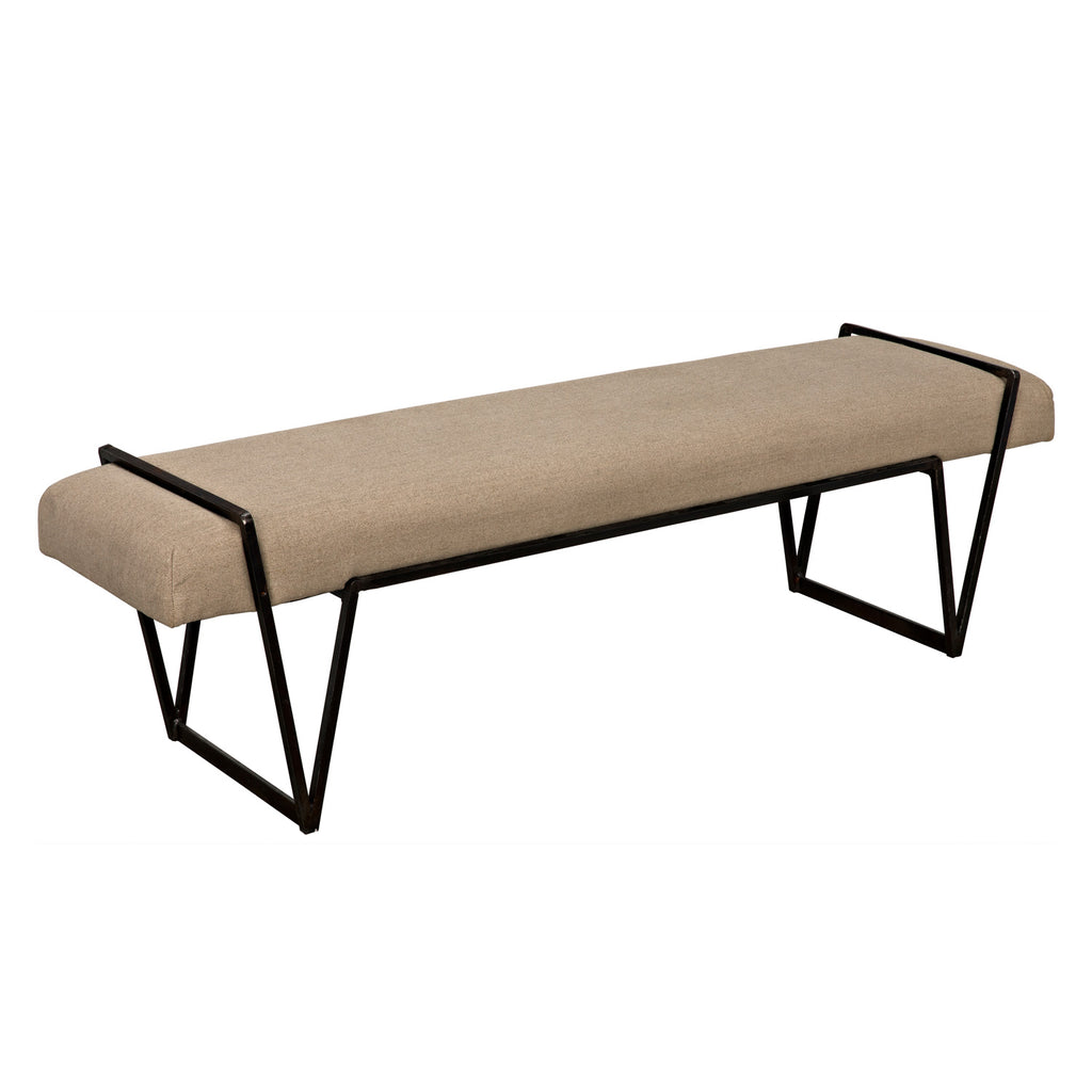 Noir Larkin Bench