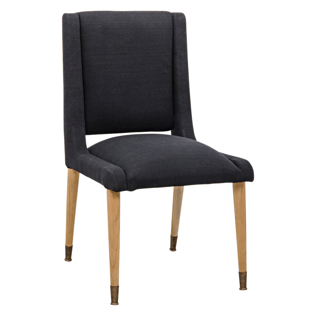 Noir Lino Dining Chair