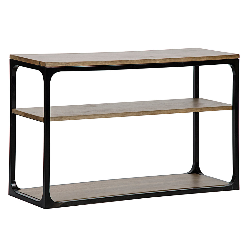 Noir Novie Console Table