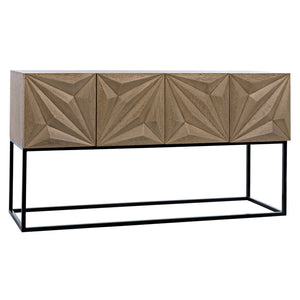 Noir Zurich Console Table