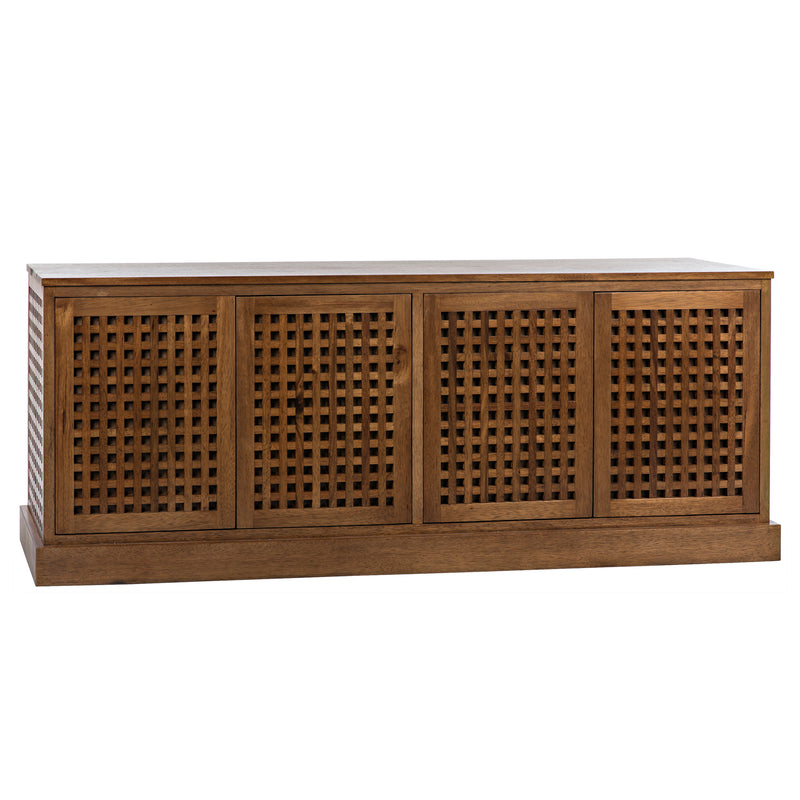 Noir Genti 4 Door Sideboard