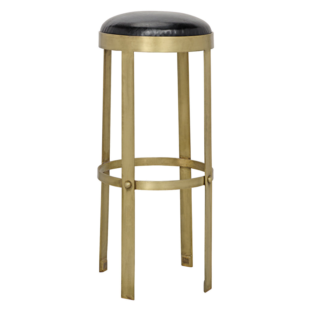 Noir Prince Bar Stool