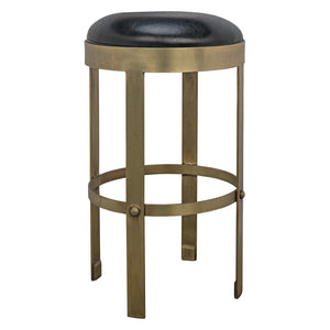 Noir Prince Counter Stool