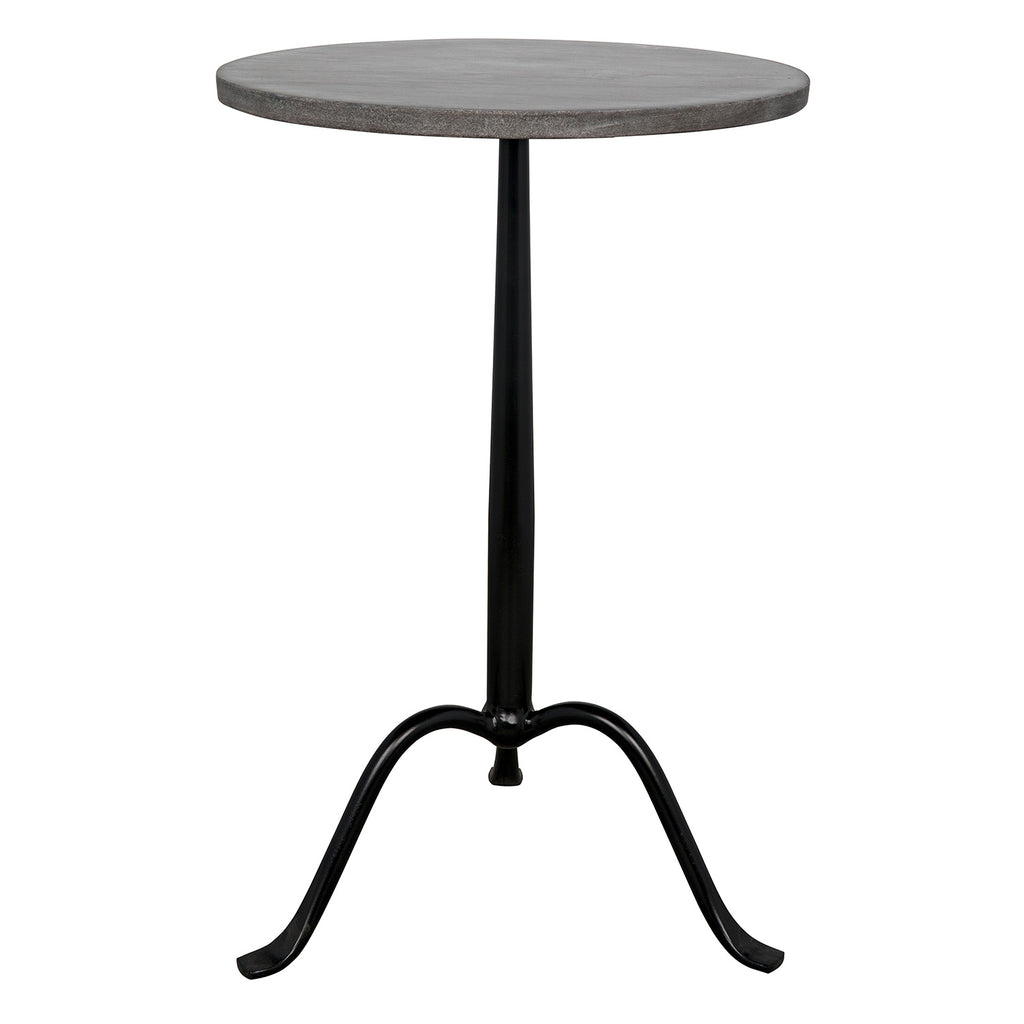 Noir Cosmopolitan Side Table