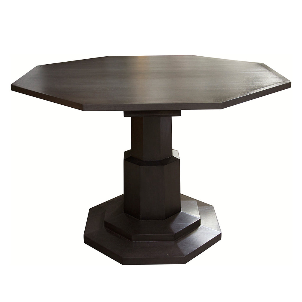 Noir Octagon Dining Table