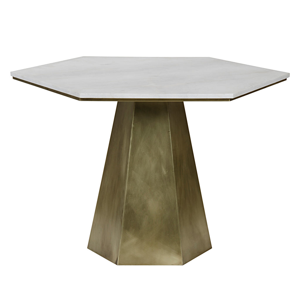 Noir Demetria Dining Table