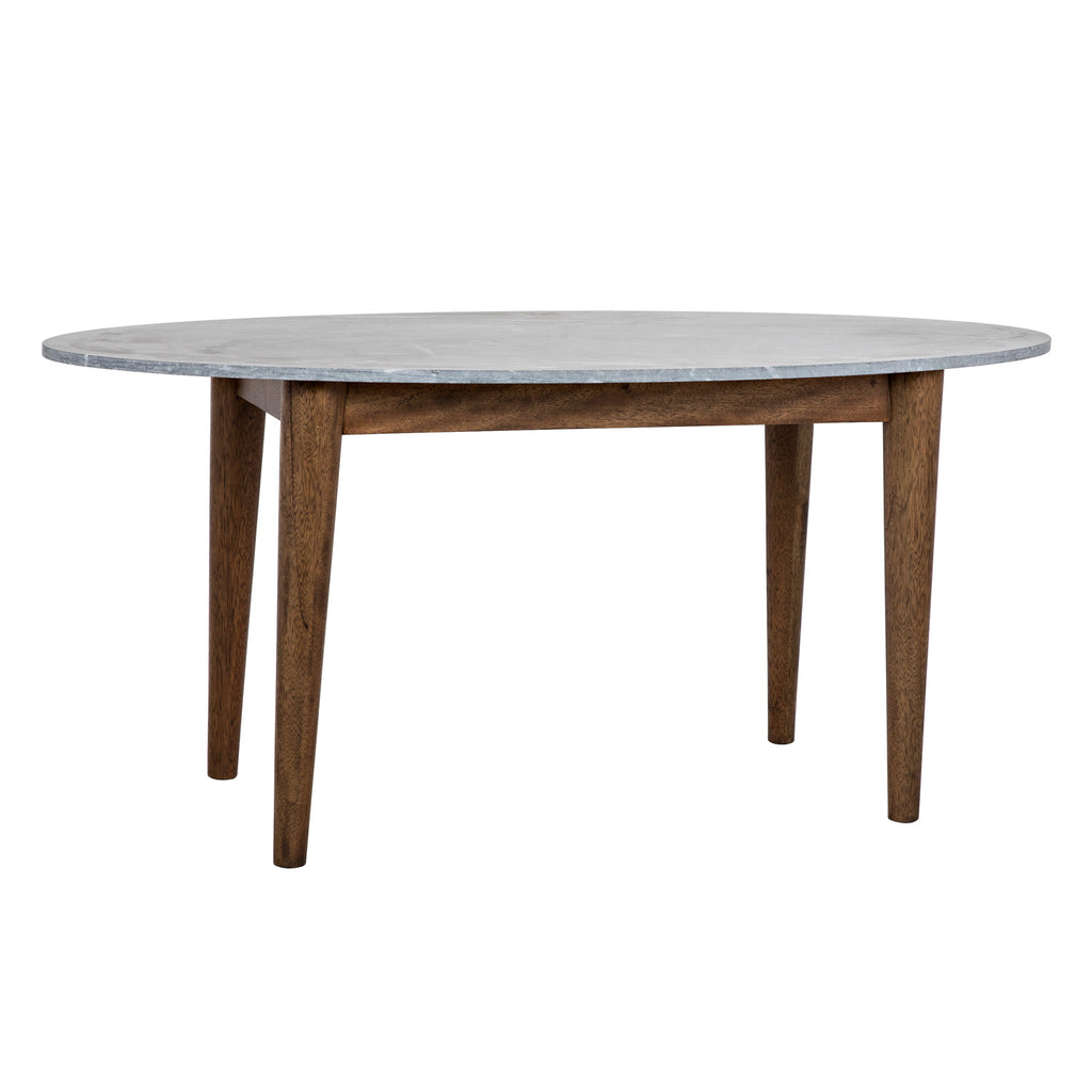 Noir Surf Oval Dining Table