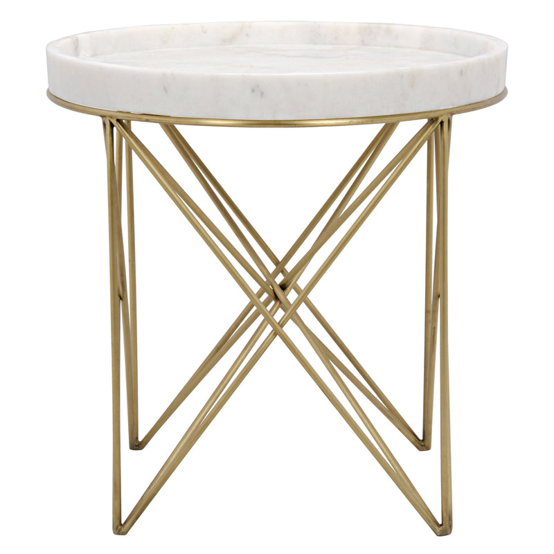 Noir Prisma Side Table