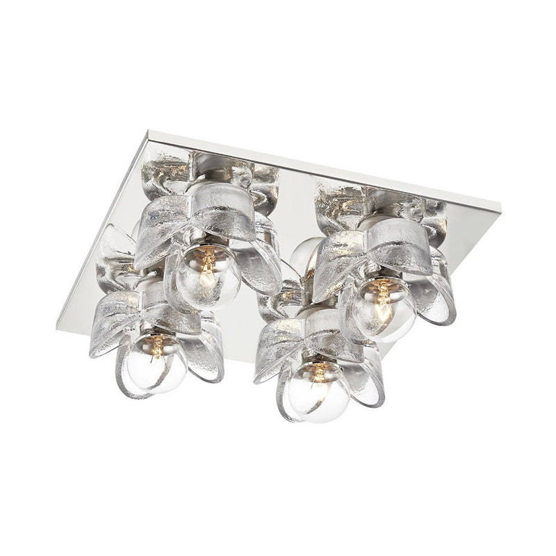 Mitzi Shea 4-Light Flush Ceiling Mount