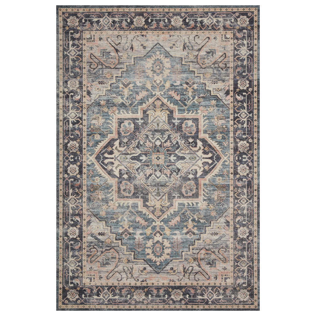 Loloi II Hathaway Navy/Multi Power Loomed Rug