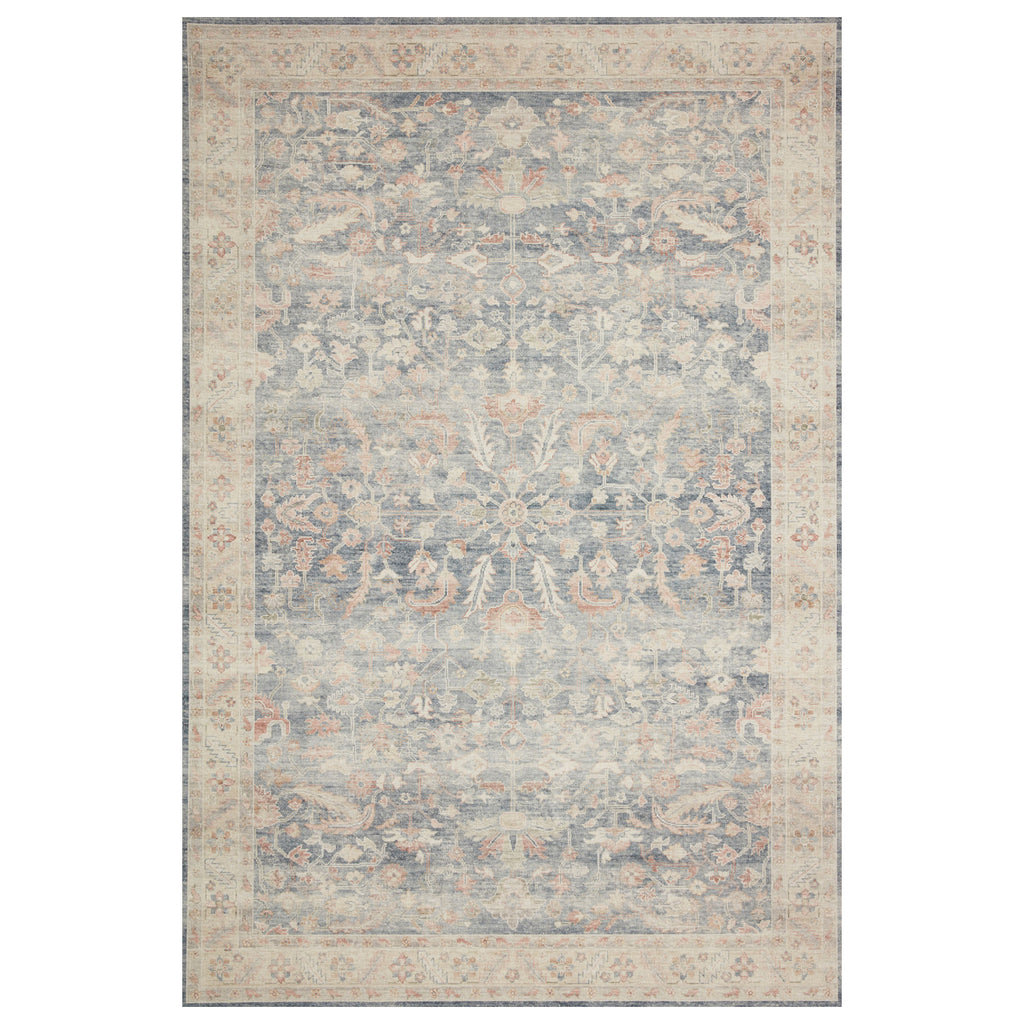 Loloi II Hathaway Denim/Multi Power Loomed Rug