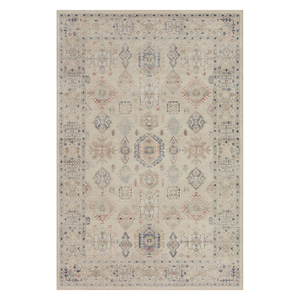 Loloi II Hathaway Beige/Multi Power Loomed Rug